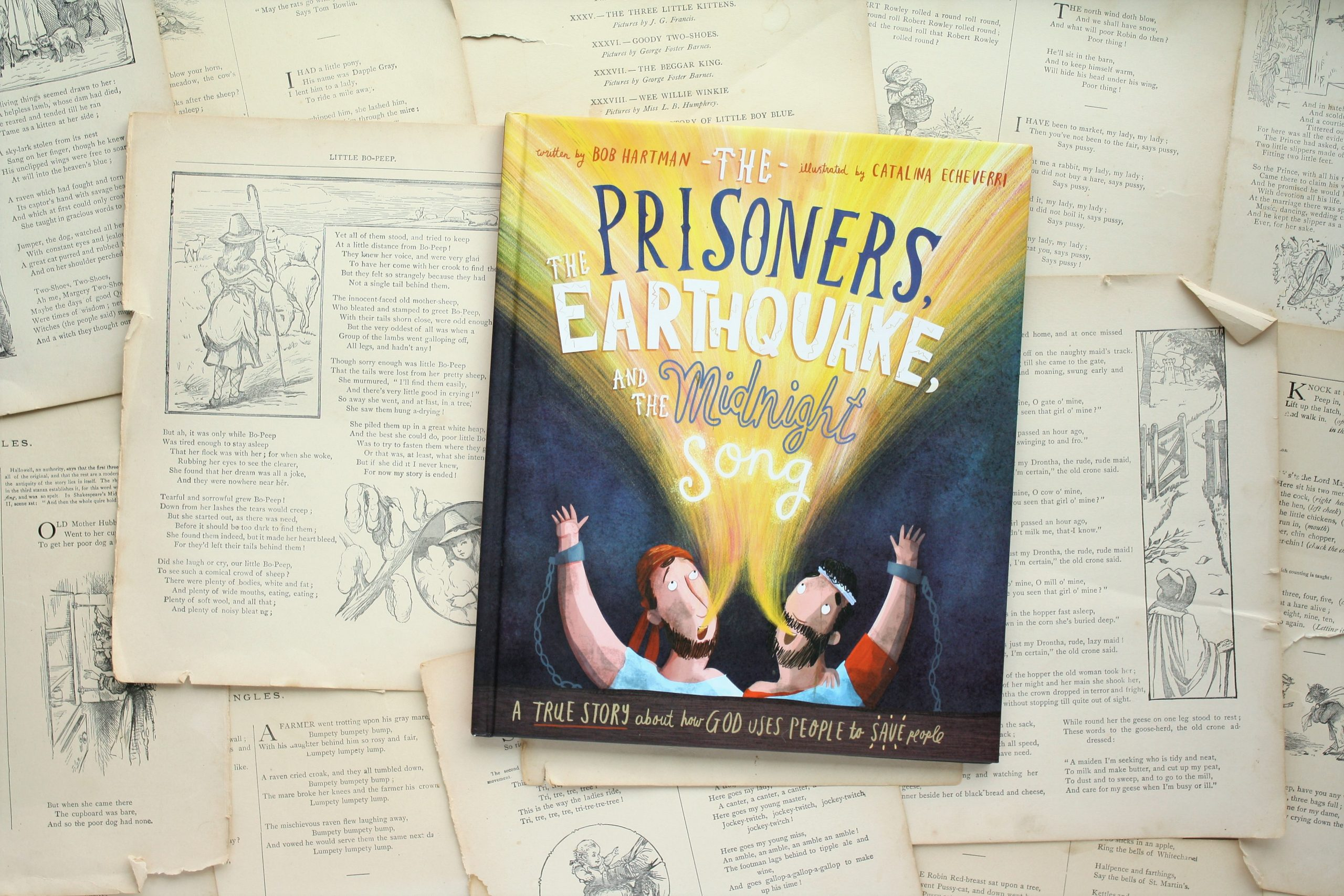 The Prisoners, the Earthquake, and the Midnight Song | Bob Hartman
