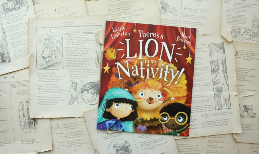 There's a Lion in My Nativity! | Lizzie Laferton